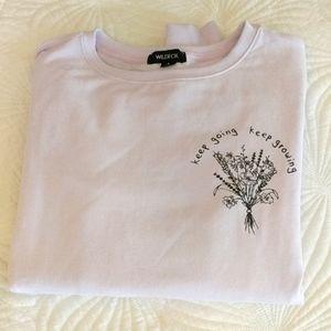 Wildfox lavender sweatshirt small